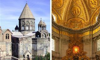 Essas são algumas das igrejas mais antigas do mundo