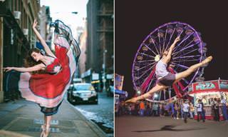 Incrível - Dançando balé nas ruas de Nova York
