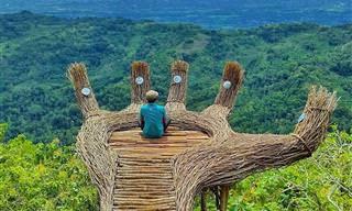 Olga Ziemska e sua inspirada arte em bambu