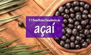 Açaí: Conheça os Benefícios Desta Pequena Fruta Maravilhosa