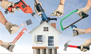 Melhoramentos domésticos que resultam em economia