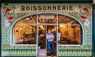 O charme das lojinhas de calçada de Paris