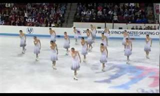 Uma Comovente Demonstração de Beleza e Precisão no Gelo