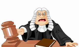 A Velhinha, o Juiz e o Marido Enxerido