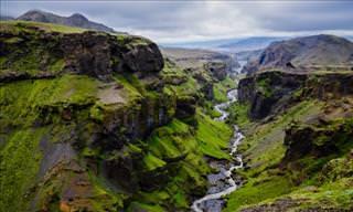 A mágica  beleza da Islândia vista em seu esplendor