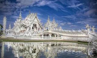 O Surreal Templo Branco da Tailândia