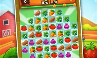 Organize as Frutas Neste Jogo na Fazenda!