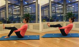 Sentindo-Se Inchado? Experimente Fazer Yoga!