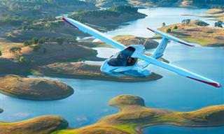 Já pensou em ter um avião que cabe na sua garagem?