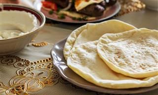 Deliciosa Receita de Pita (Pão Sírio)