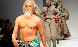 Nunca é Tarde: Conheça Wang Deshum, Modelo de 80 Anos