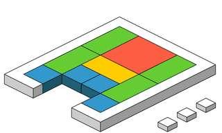 Quebra-Cabeça: Libere o quadrado vermelho