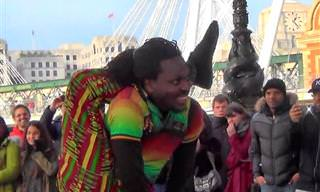 Incrível: Artistas de Rua Mostram Todo Seu Talento