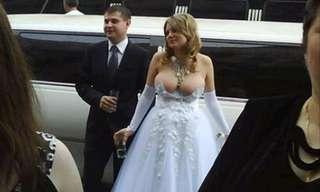 Vestidos de Noiva Que São Um Desastre!