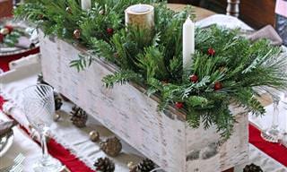 6 Maneiras de Decorar a Mesa Para o Natal