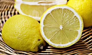 As Razões Para Congelar Limões
