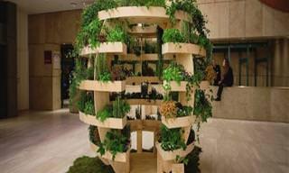Um Jardim Vertical Para Locais Urbanos Que Pode Ser Uma Revolução