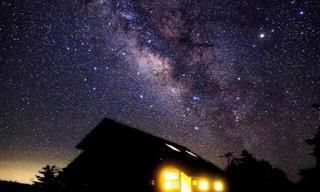 O céu noturno parece um mundo mágico nessas fotos