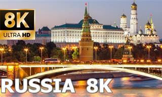 Testemunhe a beleza gloriosa da Rússia em 8K Ultra HD