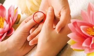 8 Pontos De Pressão Para O Tratamento De Problemas De Pele