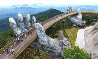 Esta Ponte No Vietnã É De Tirar O Fôlego!