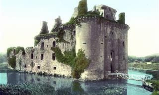 Cartões-Postais Coloridos da Escócia no Século 19
