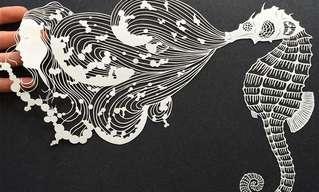 A Arte em Papel de Maude White