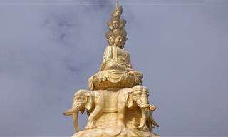 A China esconde lugares incríveis: Conheça o Monte Emei!