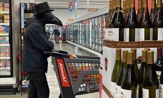Uma ida ao supermercado em tempos de Covid-19