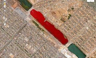 11 Imagens Impressionantes e Misteriosas Feitas Pelo Google Earth