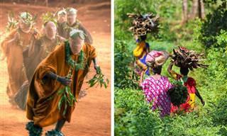 Fotógrafo capta lindamente o espírito de Camarões