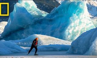 A patinação no gelo chegou a um novo nível!