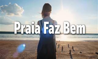 Os Benefícios Saudáveis da Praia, o 'Espaço Azul'