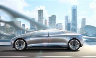A Mercedes Que Se Dirige Sozinha