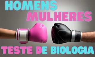 O que você sabe sobre a biologia <b>de</b> homens <b>e</b> mulheres?