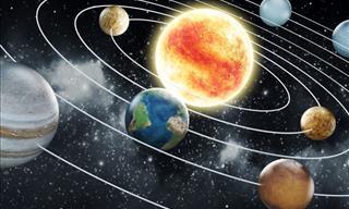 Você conhece nosso sistema solar? Faça o teste!