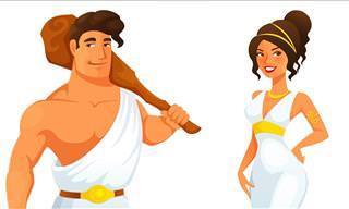 Você <b>conhece</b> mitos gregos?