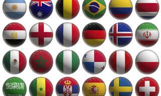 Qual país está em primeiro lugar em cada lista?