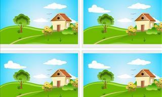 Você é capaz de encontrar as pequenas diferenças?